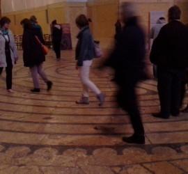Labyrinthsbegehung